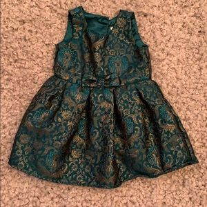 Green Christmas Dress 3T